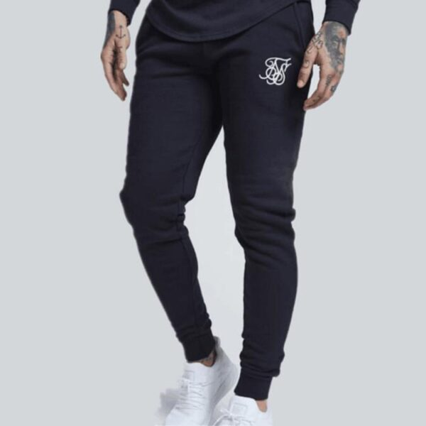 2019 Men's Fashion Kanye West Sik Silk Men's Printed Casual Sweatpants Gyms Fitness Jogging Pants 85% Cotton