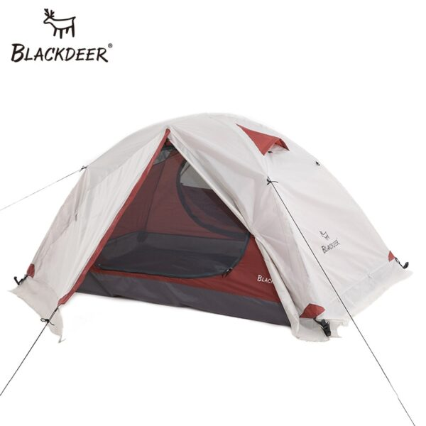 Blackdeer Archeos 2P Backpacking Tent Outdoor Camping 4 Season Tent With Snow Skirt Double Layer Waterproof Hiking Trekking Tent