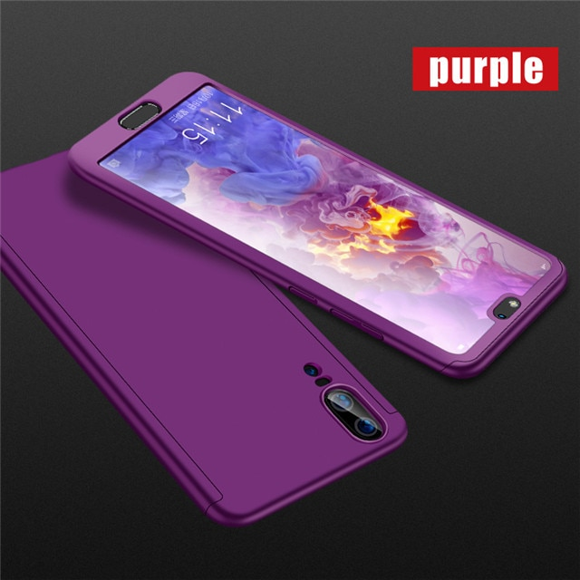 360 Degree Phone Case For Samsung Galaxy A10 A40 A50 A60 A70 A10S A10E A20 A20S A20E A30 A30S A50S A80S With Glass Screen Cover